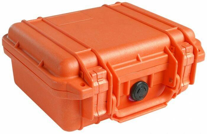 Peli-Case 1200 mit Schaumstoff