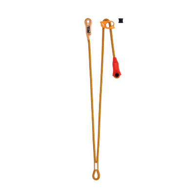 Cowtails / Self belay Petzl Dual Canyon Guide