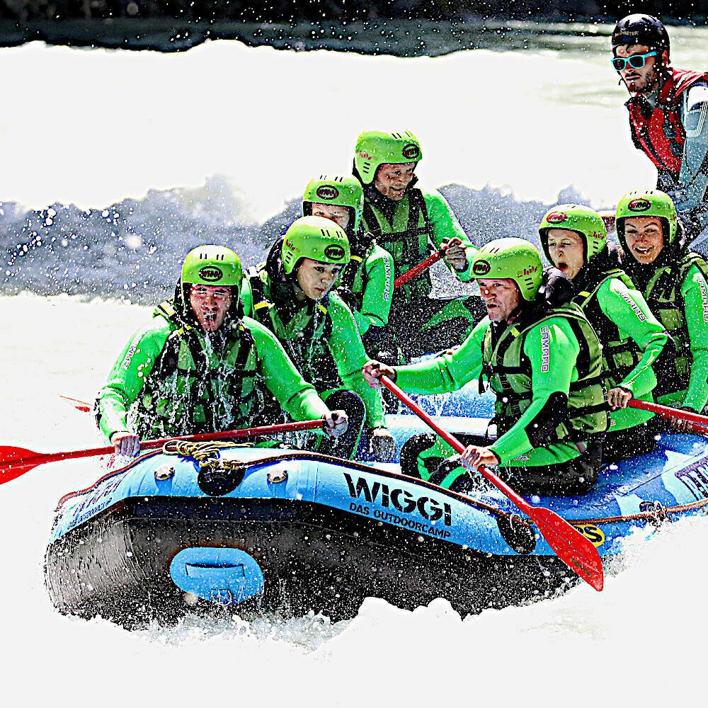 Gutschein Rafting Tour