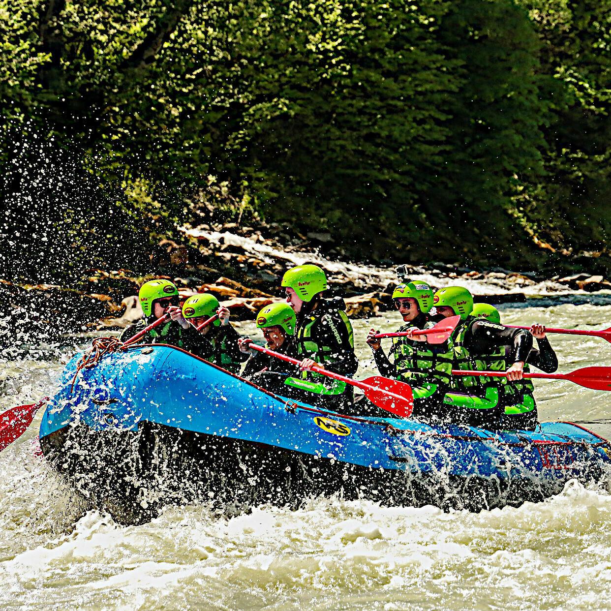 Gutschein Rafting Package Tirol: Imster Schlucht + Ötztaler Ache + Übernachtung