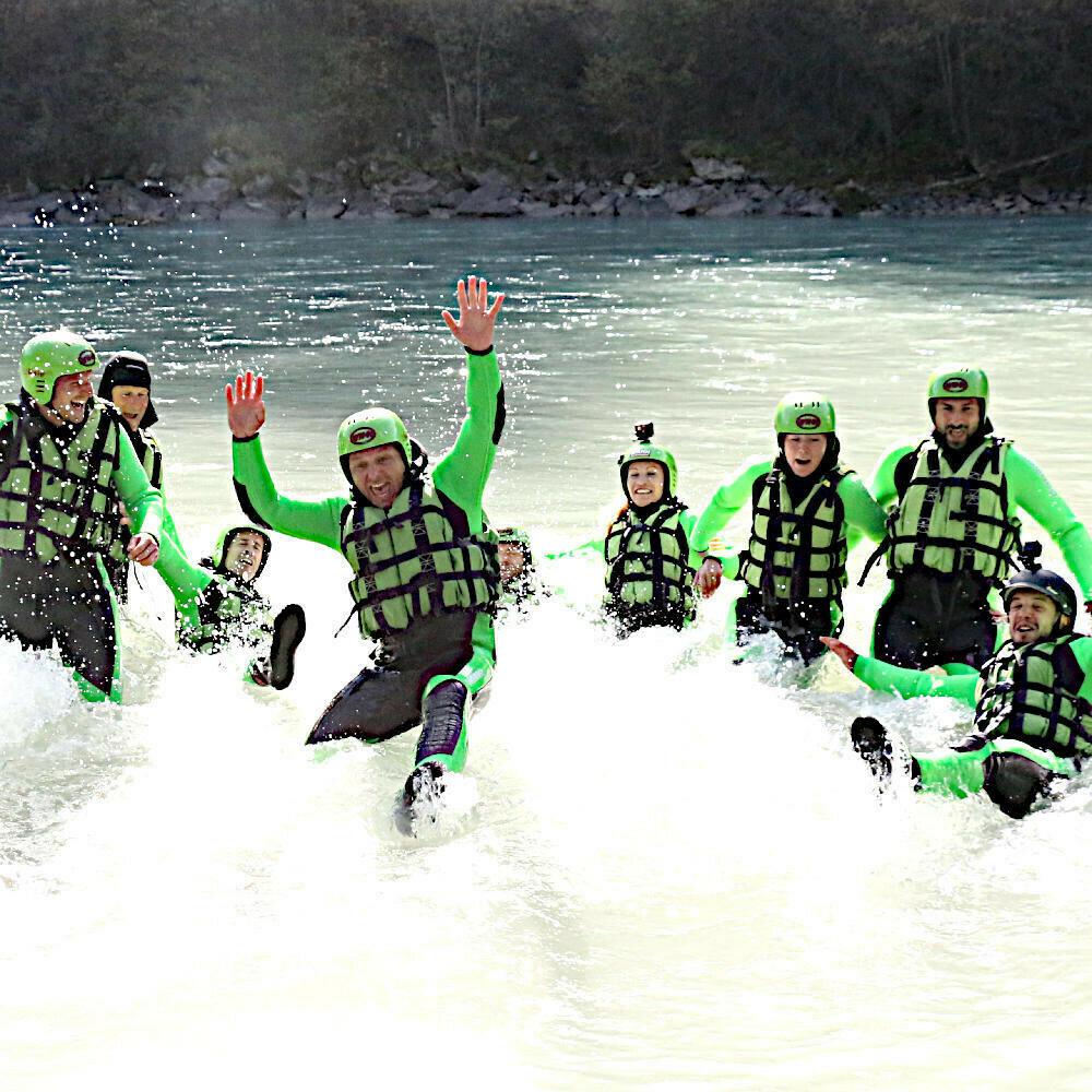 Rafting Wochenende Tirol: Raftingtour Imster Schlucht + Ötztaler Ache + Übernachtung