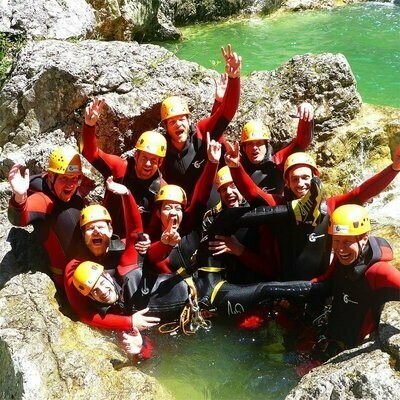 Voucher Canyoning half day tour