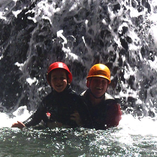 Canyoning Familien und Kinder