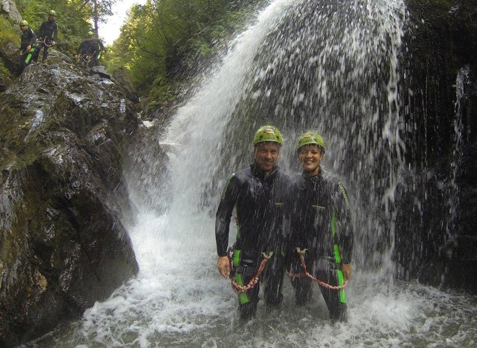 Canyoning Alpenrosenklamm (Stopfer) Stopfer