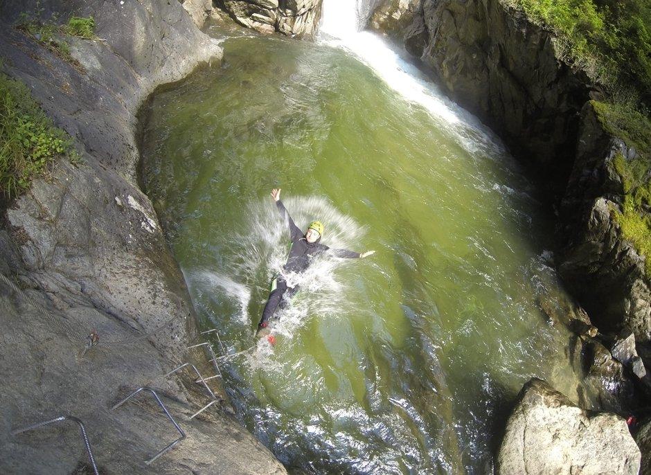 Canyoning Untere Auerklamm Auerklamm