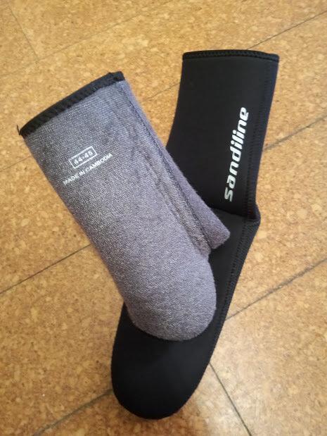 Neoprensocken Sandiline Thermo 5mm