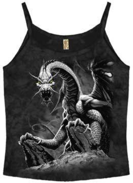 Black Dragon Girl Strap