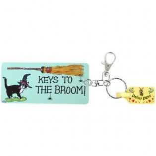 Keys to the Broom - Key Ring
