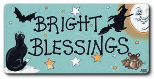 Bright Blessings Fridge Magnet