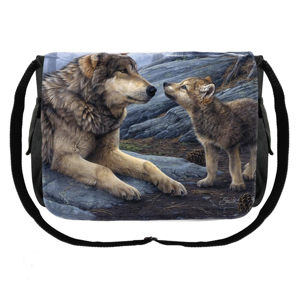 Brother Wolf Messenger Bag