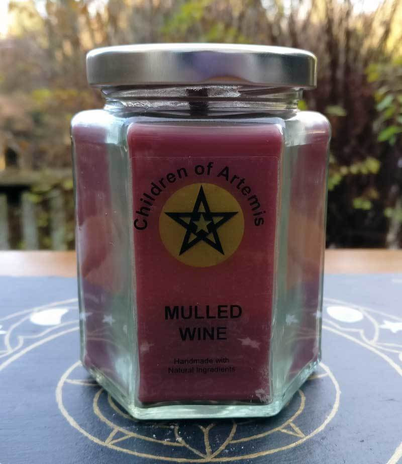 Mulled Wine Jar Candle