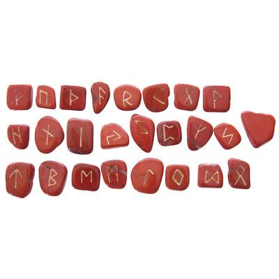 Rune Stones - Red Jasper