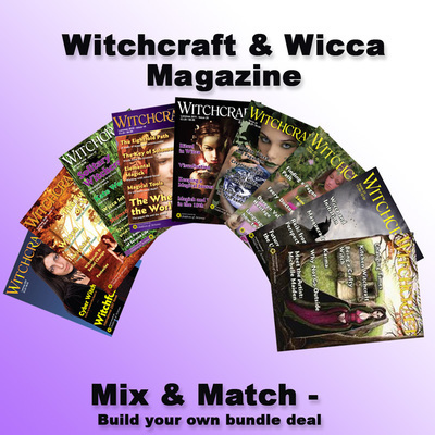 Witchcraft & Wicca Magazine Bundle Mix & Match