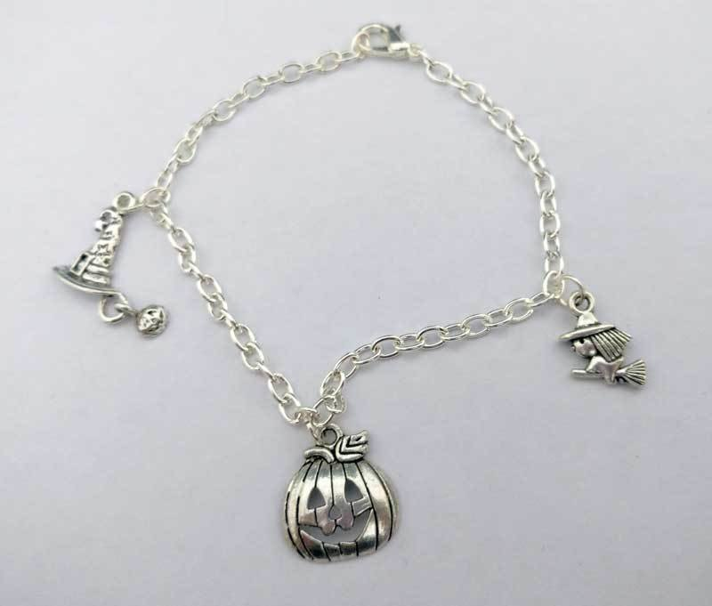 Halloween Chain Charm Bracelet