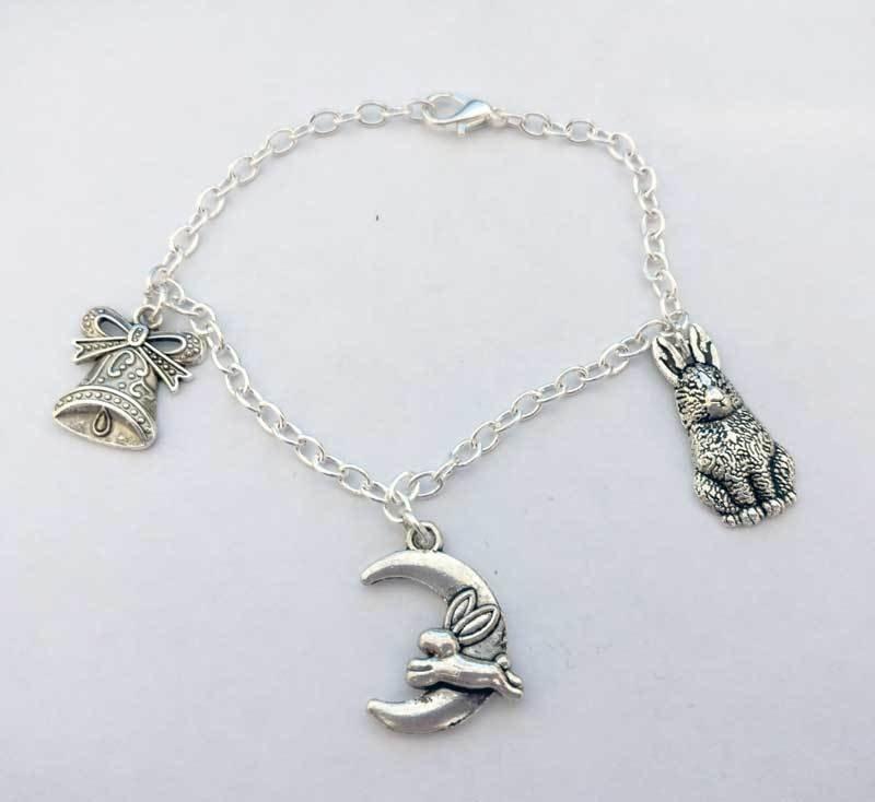 Ostara Chain Charm Bracelet