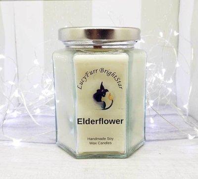 Elderflower Jar Candle