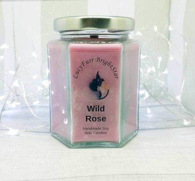 Wild Rose Jar Candle