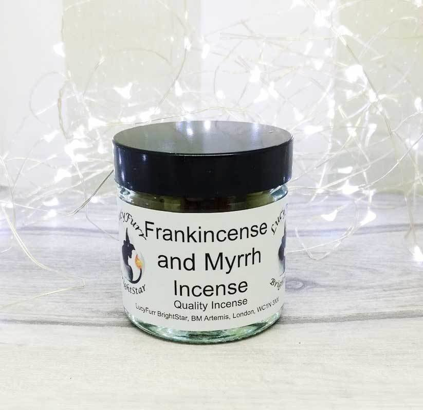Frankincense & Myrrh- 60ml Jar