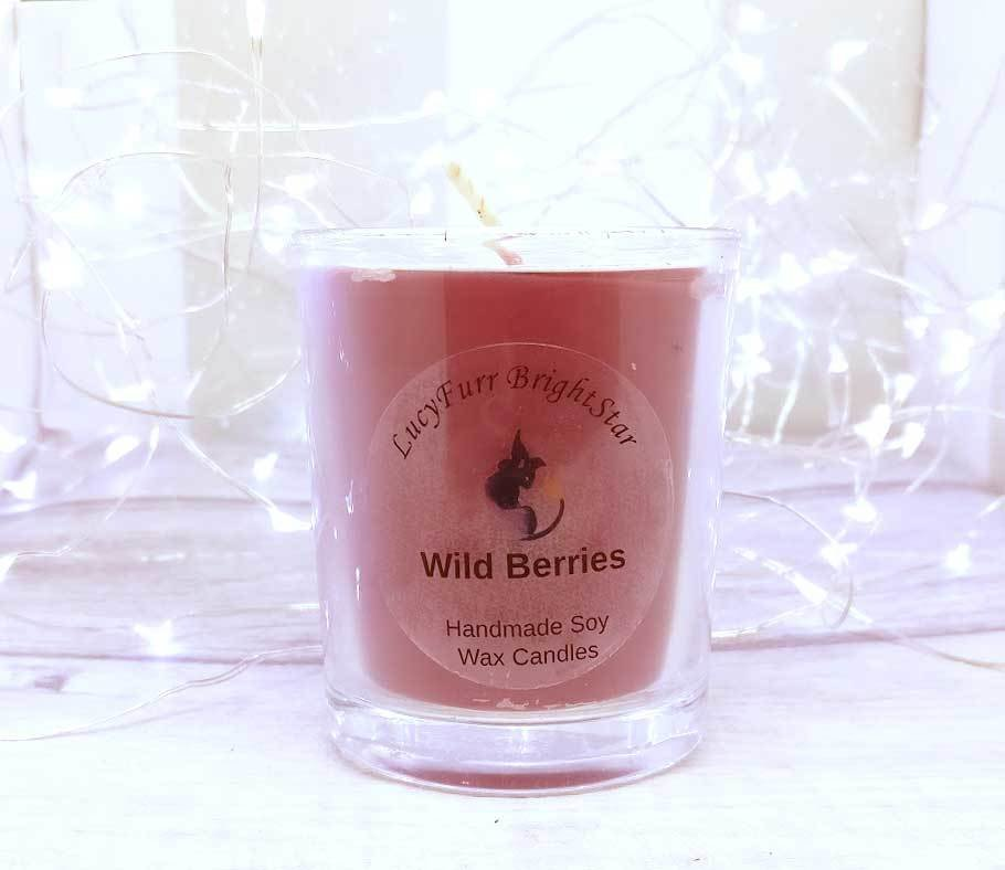 Wild Berries Soy Candle