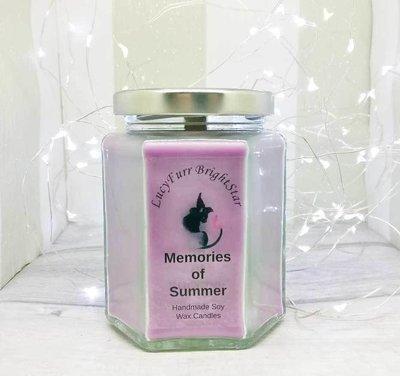 Memories of Summer Jar Candle