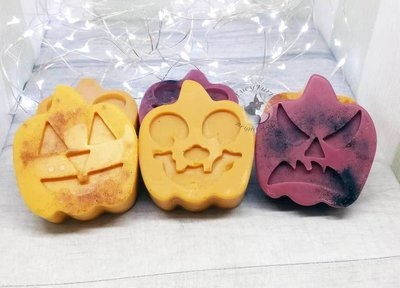 Jack-O'-Lantern Big Soy Candle Melts Choose Pumpkin Spice, Dragons Blood or Autumn Leaves