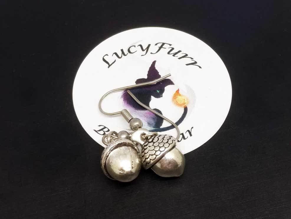 Acorn Dangle Earrings