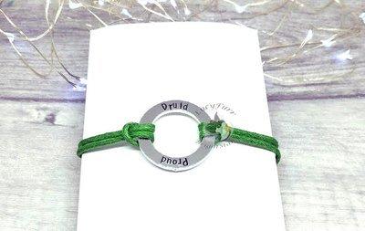 Proud Druid Metal Stamped Bracelet