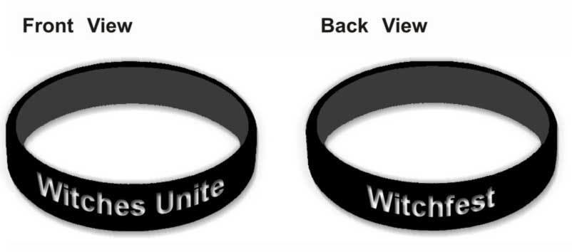 Witchfest - Witches Unite silicon wristband