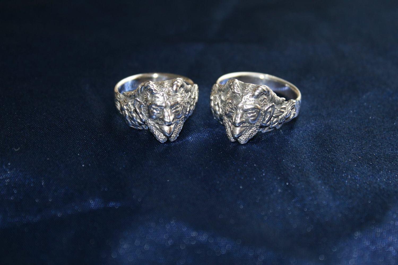 Pan Ring - Sterling Silver