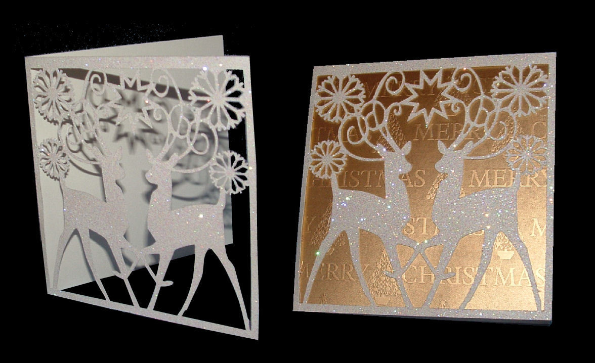 Reindeer Card  FCM format