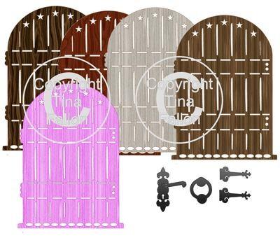 Fairy Door Topper * Set 2 * print n cut