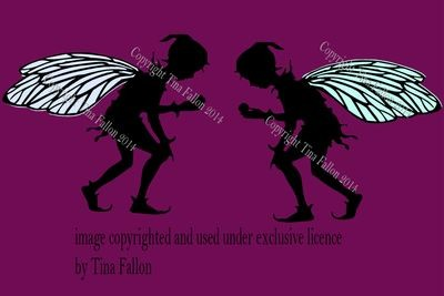 Pixie b (1 pixie shown in two directions)