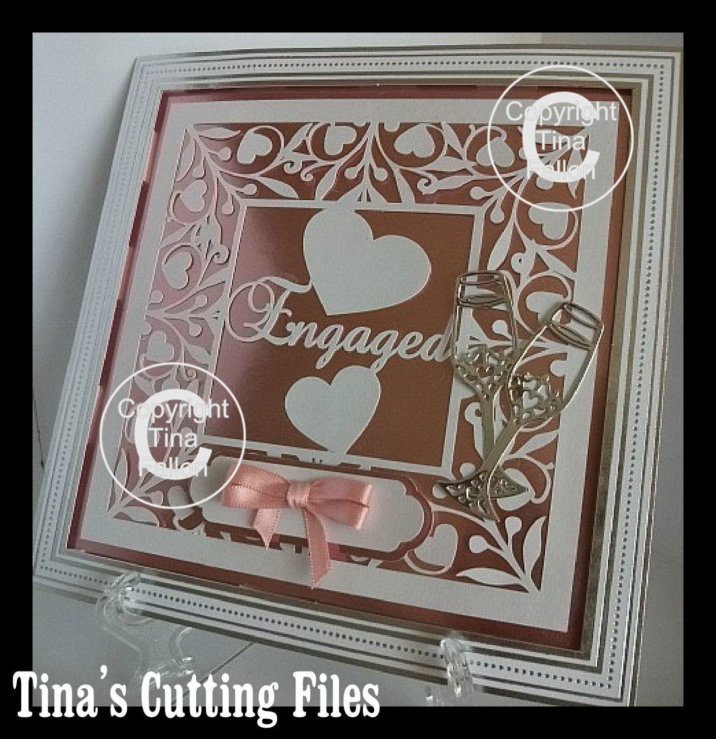 Engaged Keepsake 12x12