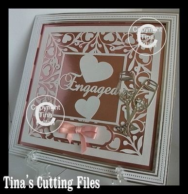 Engaged Keepsake 12x12