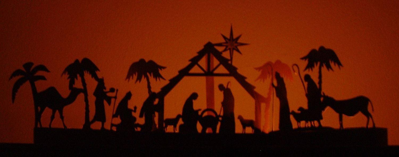 Nativity Luminaire / Decoration   FCM Scan n cut