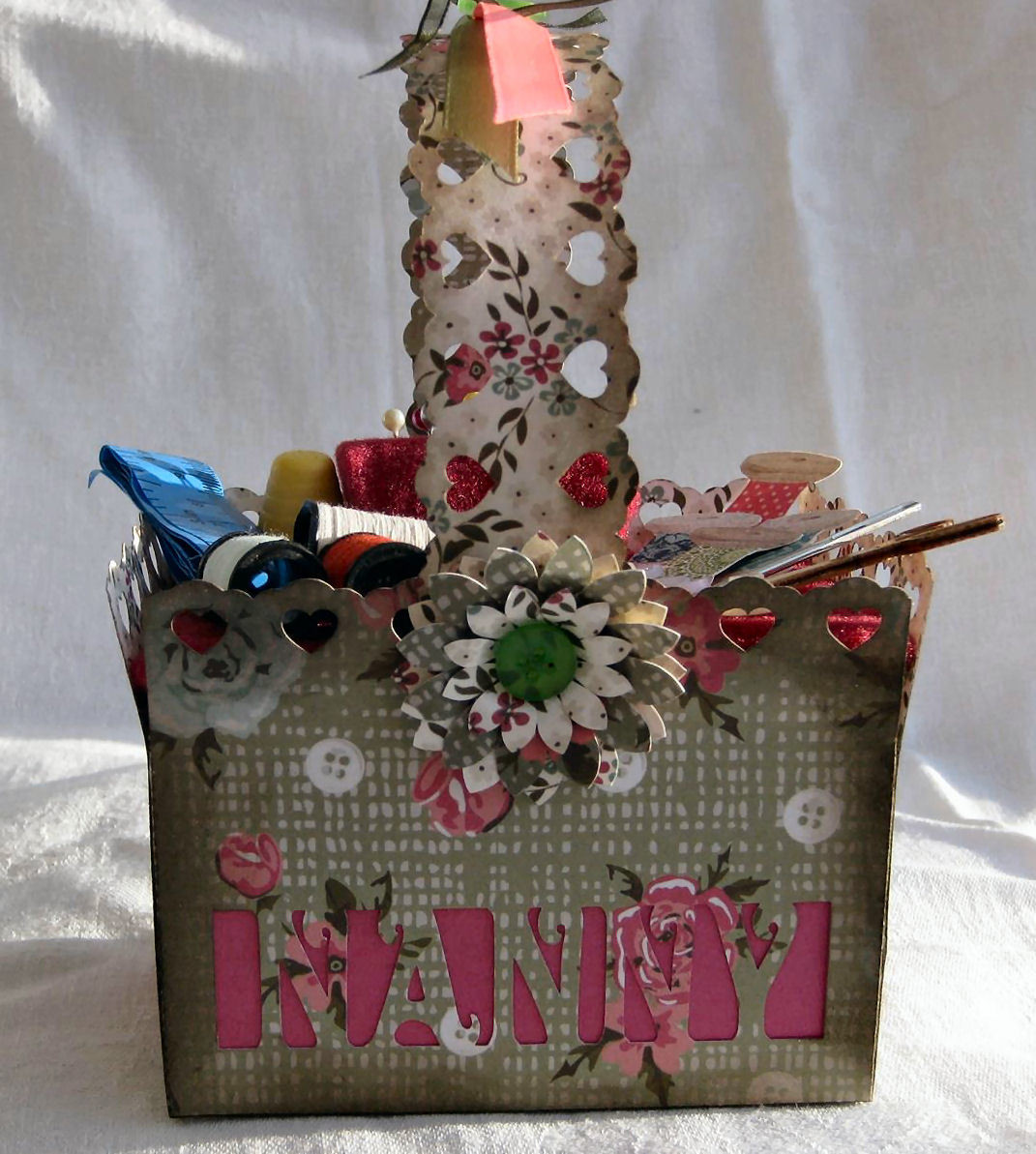 NANNY  Basket - includes a gift box to put it in