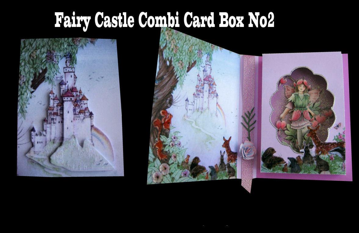 Fairy Castle Combi Card and Gift Box * Design No 2