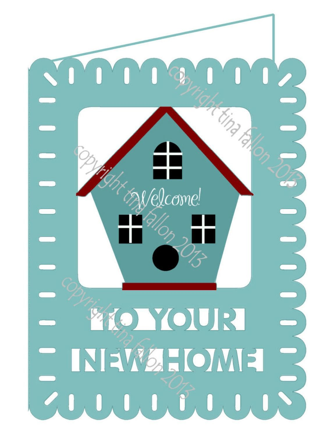 New Home Card Template No 3 PNC