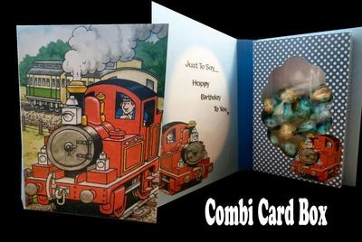Tobias The Tank Engine Combi Card Box  PNC