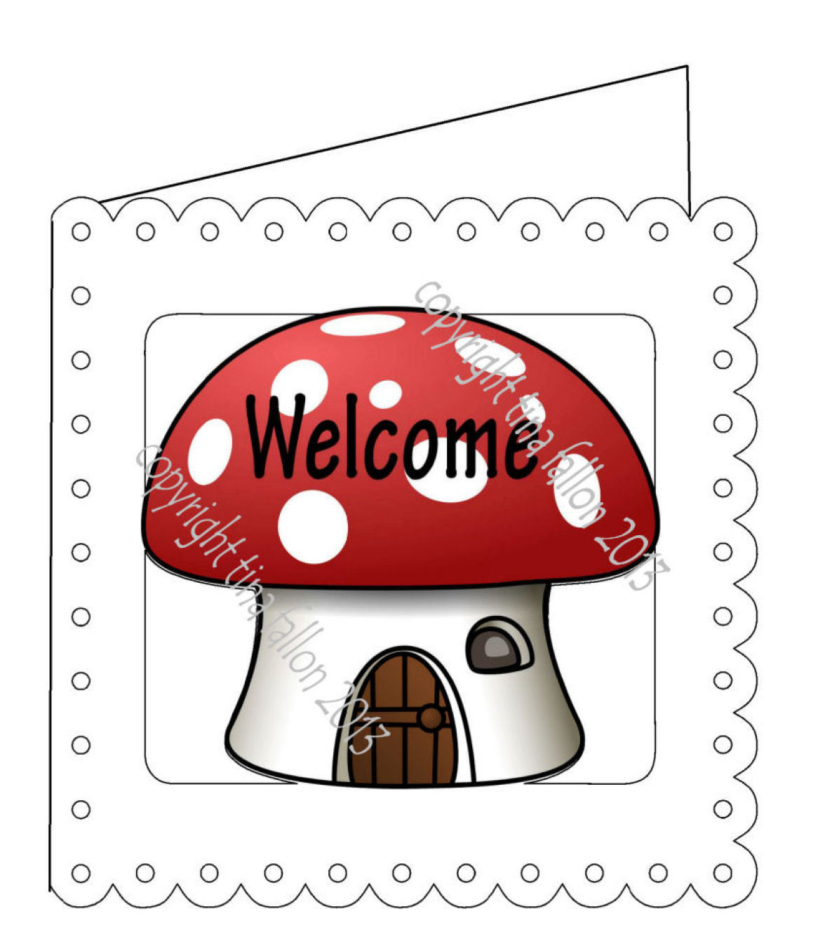 New Home Card Template No 1  PNC