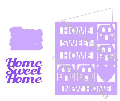 New Home Card Template No 6