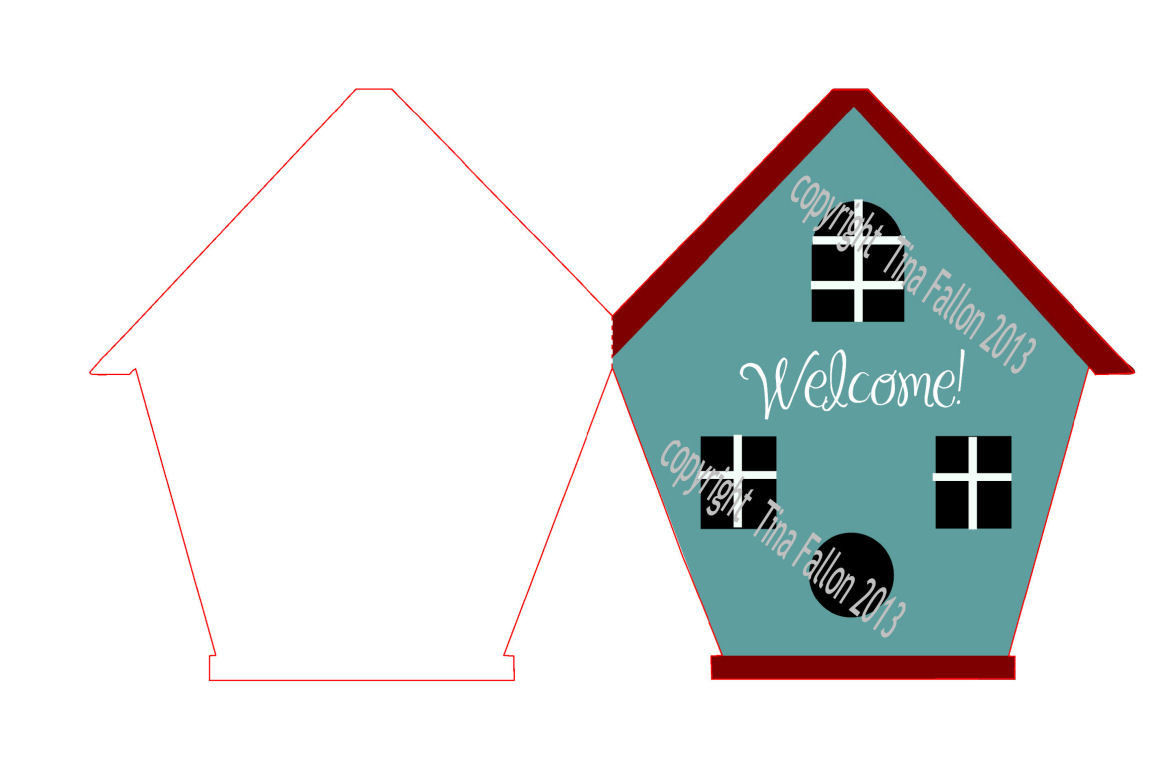 New Home Card Template No 8 PNC