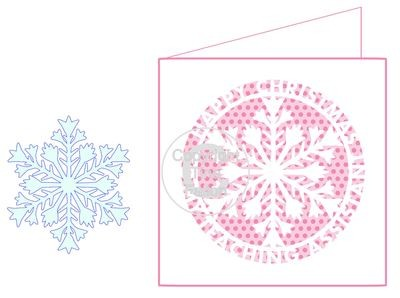 Happy Christmas Teaching Teacher Assistant - CARD TEMPLATE WITH ADDITIONAL SNOWFLAKE FOR 3D