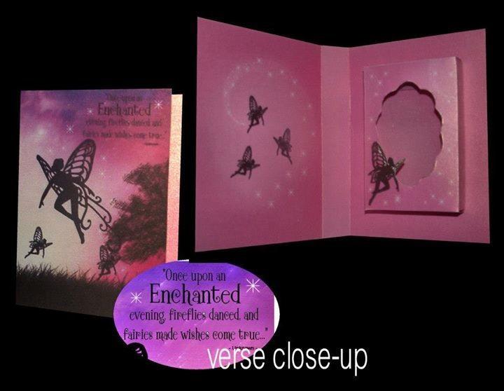 Fairy Combi Card-Box No1 Print n Cut
