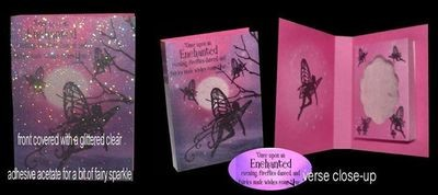 Fairy Combi Card-Box No2 Print n Cut