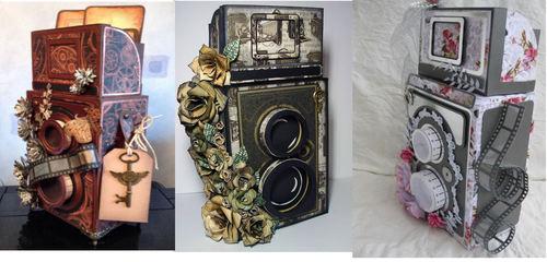 3D Vintage Camera Studio format