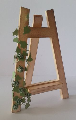 Artists 3d Easel Display Stand great for craft fair displays. COMMERCIAL USE ALLOWED
