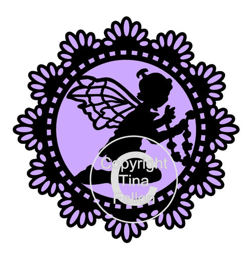Fairy Doiley 5 SVG FORMAT