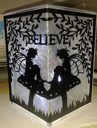 Fairy Time Believe for vinyl and glass block tiles