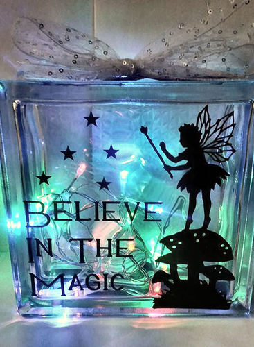 Fairy Believe In The Magic - design for vinyl and glass blocks